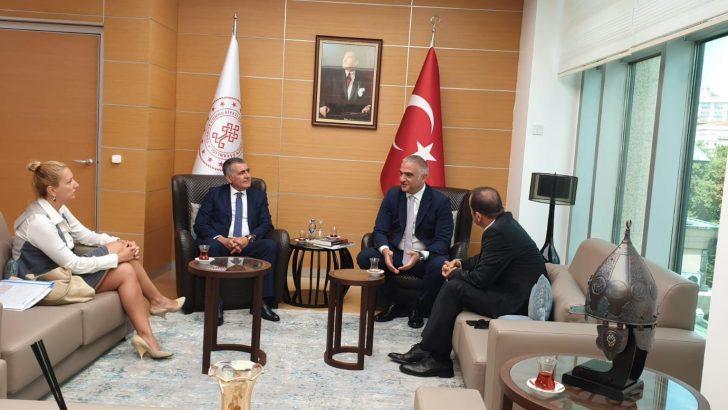 Besiad; 8. İş İnsanları Zirvesi hazırlıklarına Turizm Bakanı Daveti ile başladı