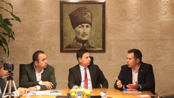 Bodrum Belediye Başkanı Ahmet Aras ile Montenegro Basın toplantısı