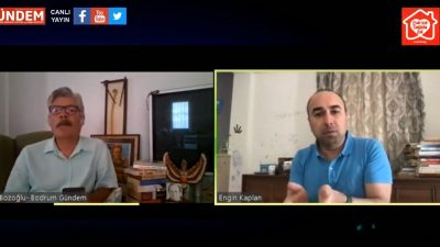 BESİAD Yönetim Kurulu Başkanı Engin Kaplan 24 Nisan Cuma günü Bodrum Gündem Canlı Yayında Fatih Bozoğlu'nun konuğu oldu