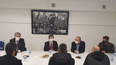 """Muğla Valimiz Sn. Orhan TAVLI""""nın BESIAD'a iade-i ziyareti"""